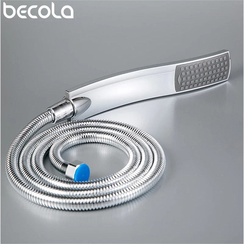 Hand Shower,Hand Held Shower Head Bathroom  Accessories  ABS Chrome Finished 150cm Stainless Steel Hose Handheld Showerheads
