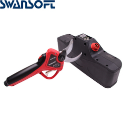 2019 new progressive type anti-cutting hand lithium battery electric pruning shears,garden scissors electric in pruning shear
