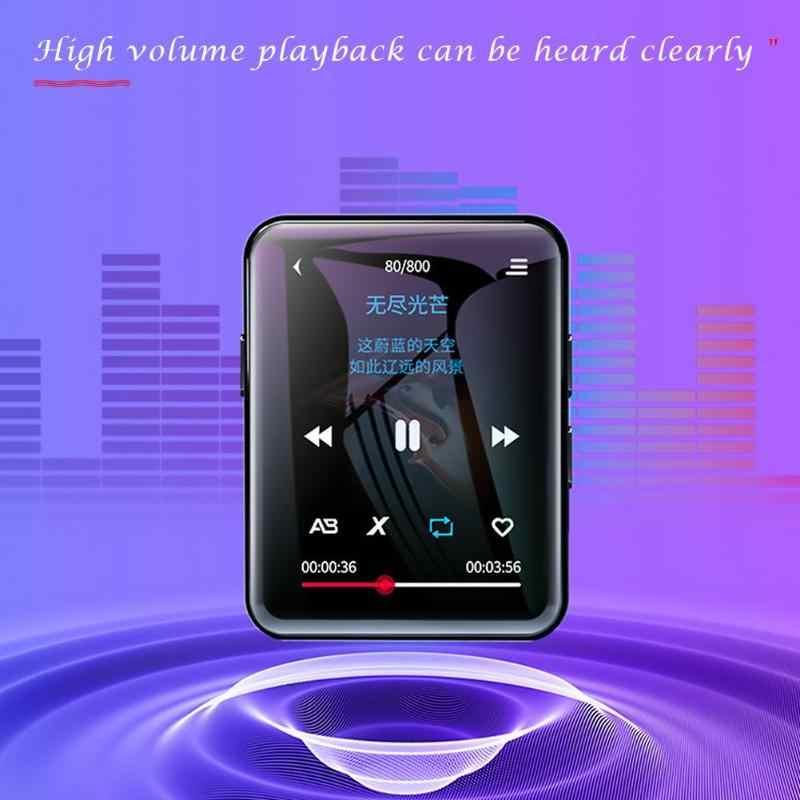BENJIE X1 Bluetooth MP3 プレーヤータッチスクリーン 8 ギガバイト 16 ギガバイトの音楽プレーヤー FM ラジオビデオプレーヤー電子ブックプレーヤー MP3 とスピーカー
