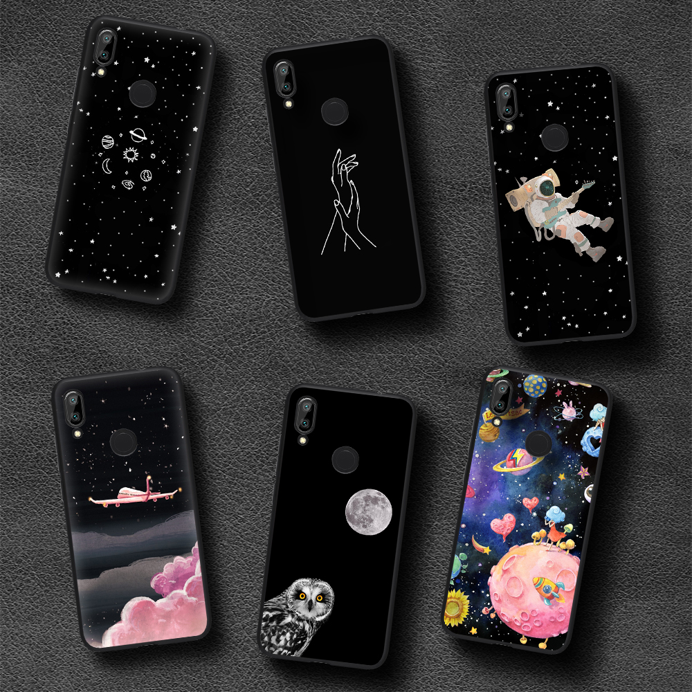 Cartoon Matte Animal Cute Fashion Back Cover Case for Redmi Note 7 Pro 5 4 3 2 Paint Cool Design Phone Case for Redmi Pro S2