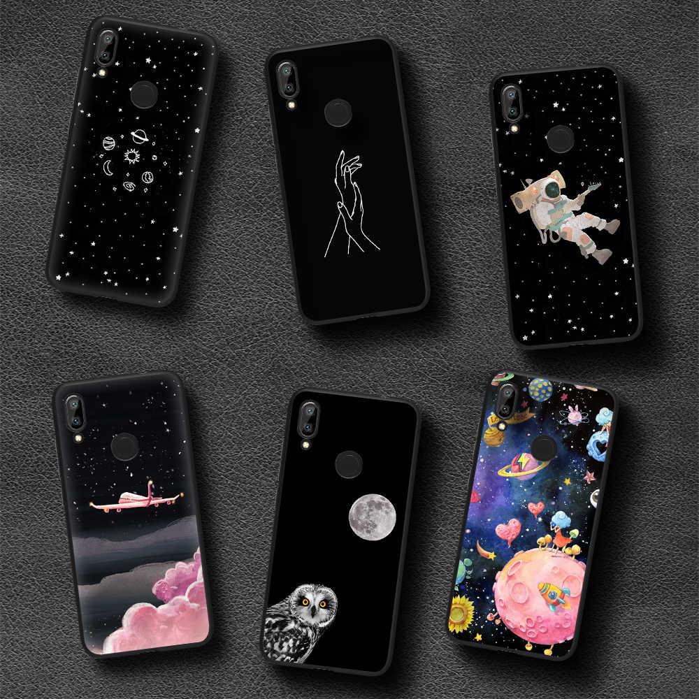 Funda trasera de dibujos animados de animales mate linda de moda en Redmi Note 7 Pro funda para Redmi Pro S2 5 4 3 2 pintura Cool funda de teléfono