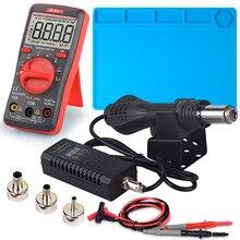 JCD Hot air gun 8858 Micro Rework soldering station LED Digital Hair dryer for s