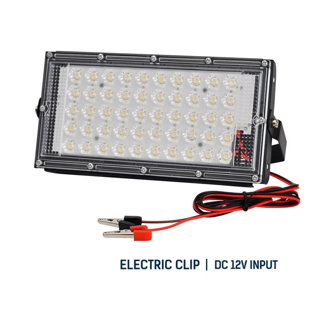 Светодиодный прожектор, 50 Вт, 12 в пост. Тока, водонепроницаемый, IP65, светодиодный