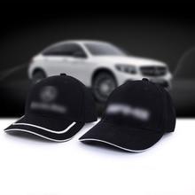 brand New black white Fashion Cotton Car logo for Mercedes-benz performance Baseball hat Adjustable hat cap reebok black washington capitals nhl hockey basic logo adjustable cap hat