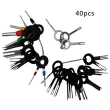 3/8/11/18/36/41PCS/Set  Car Plug Terminal Extraction Pick Back Needle Wire Harness Connector Crimp Pin Auto Repair Tool