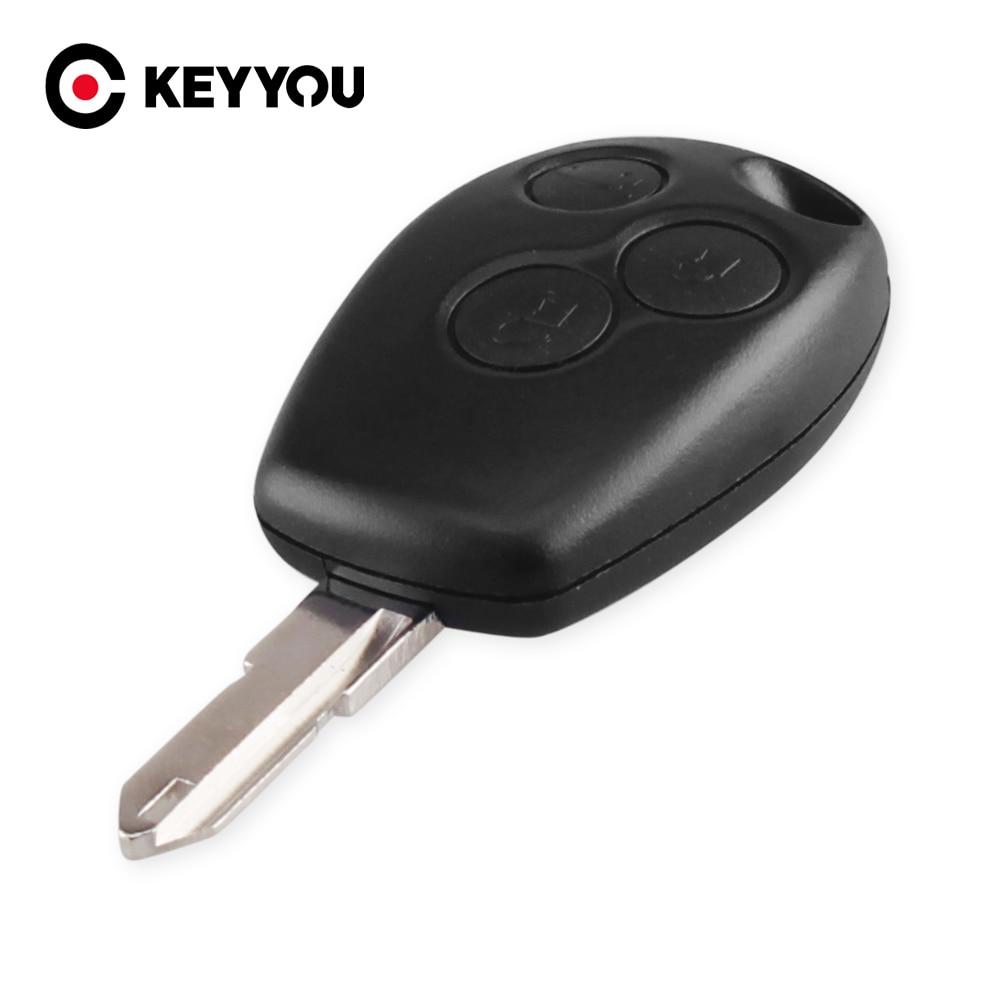 KEYYOU 3 boutons coque de clé à distance F ou Renault 3 boutons livraison gratuite