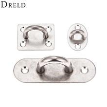 DRELD 1 шт. из нержавеющей стали u-образное потолочное крепление крюк основание потолочные вентиляторы/диван для отдыха/мешки с песком/гамаки/кольца фиксированный крюк