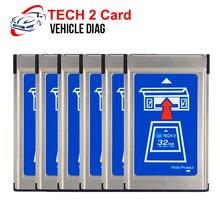 Para gm tech 2 scanner 32 mb cartão de software de memória para tecnologia 2 scanner ferramenta de diagnóstico do carro para holden/opel/gm/saab/isuzu/suzuki