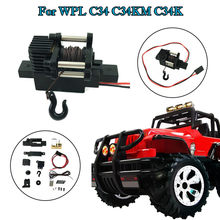 RCtown WPL Automatic Winch For 1/16 RC Car WPL C34 C34K C34KM RC Car Accessories RC Parts(China)