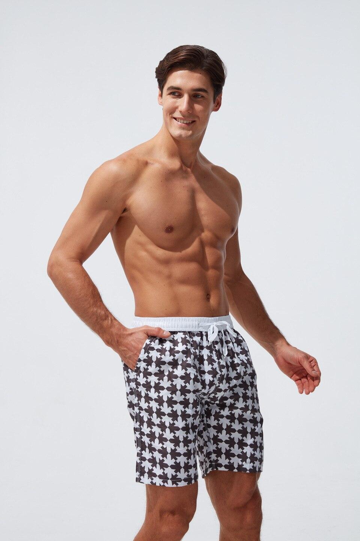 Calções de banho de praia shorts de