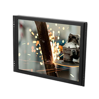 OEM frameless 19 20 22 23 27 inch LED PC monitor 1920x1080 with plastic stand