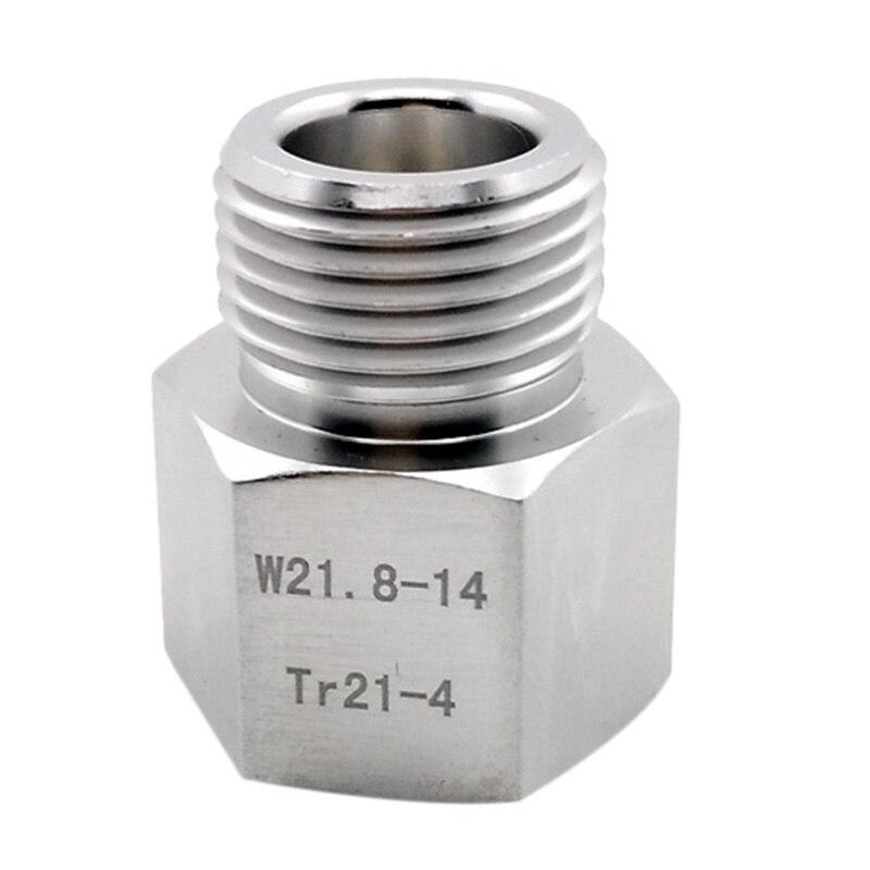 Hot XD-Sodastream Cylinder Adapter Converter To W21.8 Aquarium Fish Or Homebrew Beer Corny Keg Co2 Tank Regulators