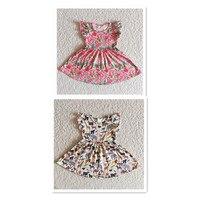 New Baby Girls Dress Animal Print Milk Silk For Toddler Girls Wear Best Selling