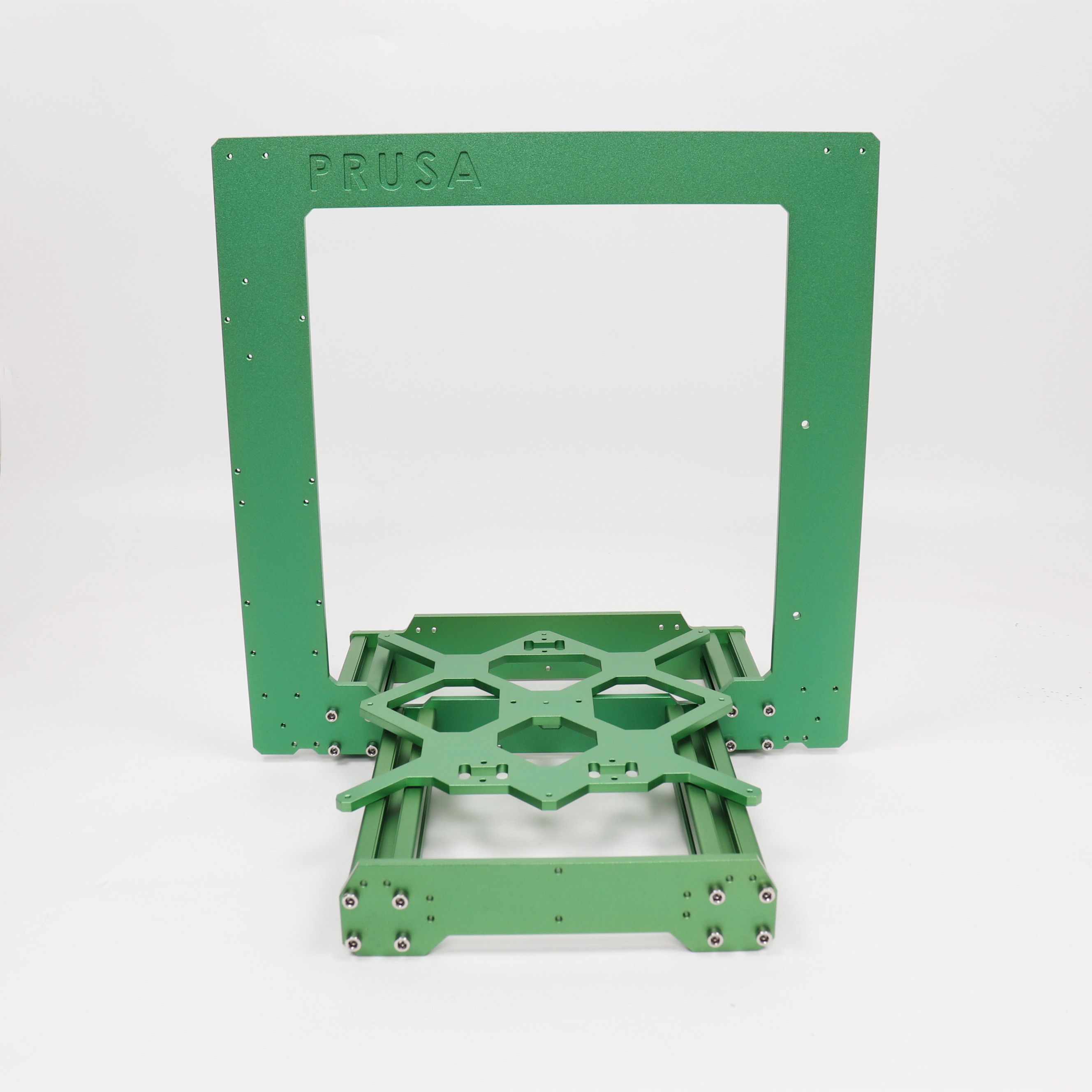 Blurolls Colorful Prusa I3 MK3/MK3S 3d Printer Frame Front And Rear Plate Y Carriage 3030 Extrusions