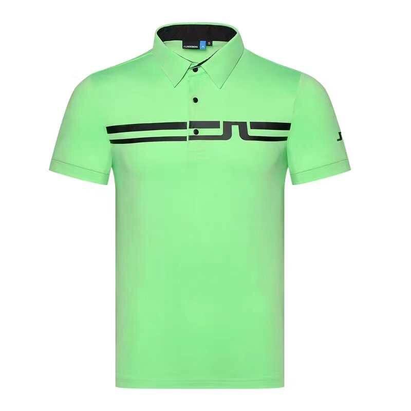 2020 New Summer Golf Apparel Men's Golf T-Shirt JL Comfortable Breathable Golf Short Sleeve T-Shirt Free Shipping