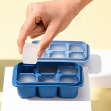Ice-Cube-Tray Small Mold Kitchen-Accessories Fruit Square-Shape Silicone Creative 6-Grids