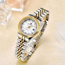 цены PAGANI sapphire Top Brand Luxury Women Wrist Watches stainless steel Quartz Clock Modern Wristwatch Women