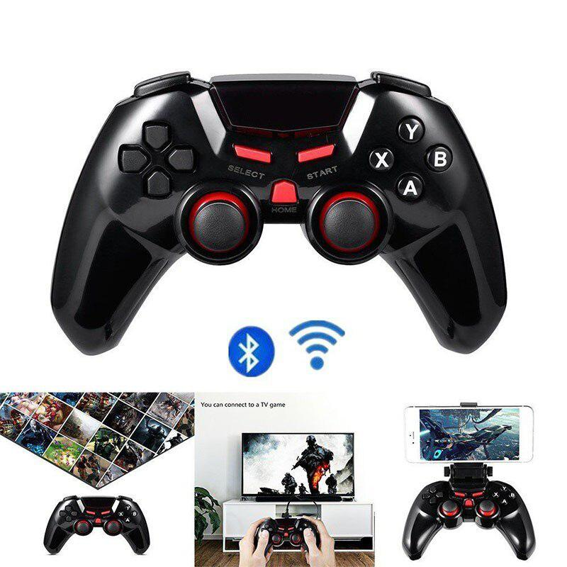 Wireless Bluetooth Game Controller Gamepad Gaming Remote Control Joystick For Mobile Phone Android Ios iPhone PC iPad Tablet