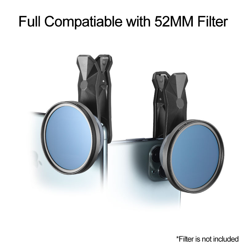 Image 3 - Ulanzi 1.33XT Anamorphic Phone Lens Bag Filter Kit Filmmaking 