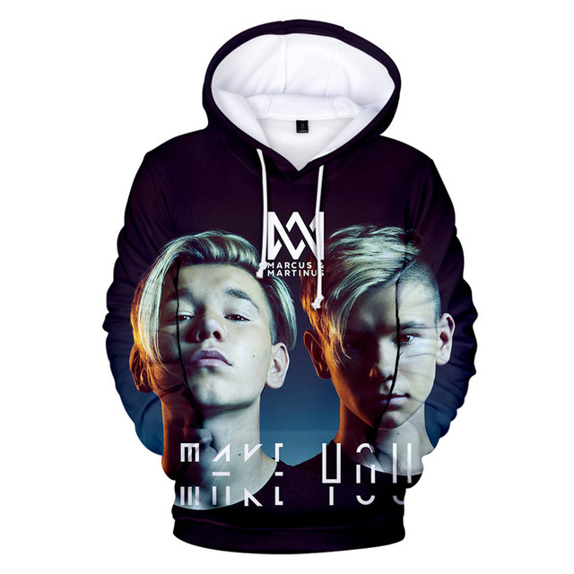 MARCUS & MARTINUS THEMED 3D HOODIE (14 VARIAN)