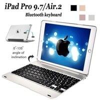 2020 novo ipad pro & air2 clamshell bluetooth teclado caso air2  portátil ipad teclado sem fio conexão bluetooth de carregamento