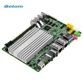 Qotom Fanless Mini industrial PC Core i3 i5 Processor onboard TDP 11.5W Dual LAN Multi-COM Ports
