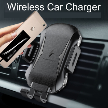 Automatic Car Mount Qi Wireless Charger for XIaomi Mi 9T Pro Car Phone Holder Wireless receiver With TPU Case For Xaomi Mi9T 9 T