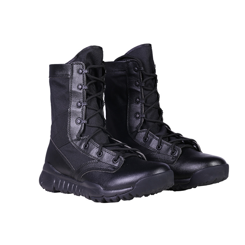 CQB Ultra-light Combat Boots Summer Outdoor Men's Hight-top Tactical Boots SFB Desert Boots Breathable Mountaineering Combat Boo
