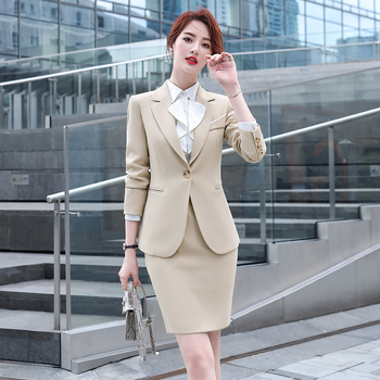 Womens Two-Piece Skirt Suits