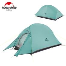 Naturehike חדש 2 אדם Ultralight ענן עד 2 מקצועי קמפינג אוהל 20D סיליקון Windproof חיצוני טיולים אוהל משלוח מחצלת