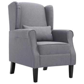 VidaXL Armchair Dark Gray Fabric 248616