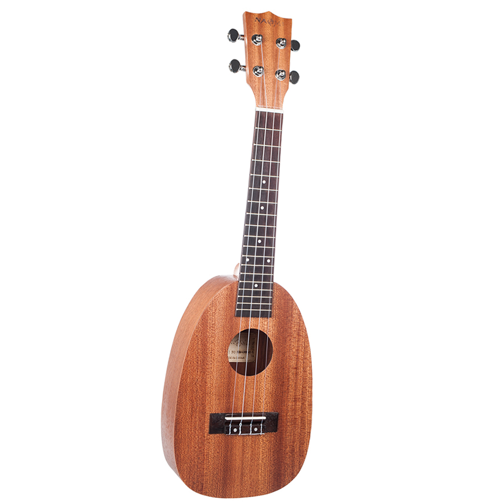 Pineapple Concert Ukulele 23 Inch Beginner Kit Stringed Instruments For Kids Adults Music Lovers