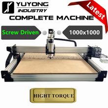 Screw Driven 1000x1000 4 Axis WorkBee CNC Router Full kit