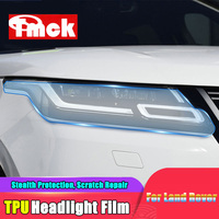 פנסי מכונית TPU HD שקוף מגן סרט לנד רובר ריינג 'רובר Evoque וילוני ספורט ווג L494 L405 גילוי 5 ספורט|עיצוב פנים|   -