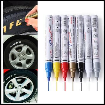 Car Pen Tyre Tires Paint Markers Marker for Toyota 4Runner Sienna Sequoia Prius GR Camry i-TRIL COASTER highlander image