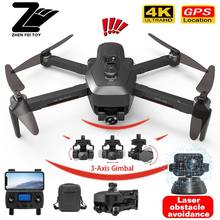 Nova sg906 pro3 max gps zangão 4k câmera profissional 5g wifi fpv dron automático evitar obstáculos motor brushless rc quadcopter