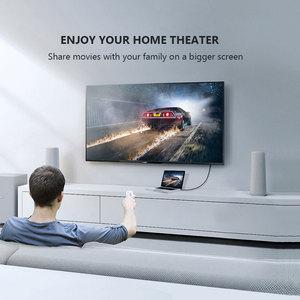 Image 3 - 2020 кабель CABLETIME DP в HDMI 4K/60 Гц, HDMI2.0 светодиодный конвертер Displayport для ноутбука, ПК, Macbook Air, Acer, Dell, кабель HDMI C313