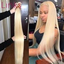 Links 8 - 40 Polegada 613 loira cabelo brasileiro 1 3 4 pacotes de tecelagem reta 28 30 Polegada remy trama do cabelo humano frete grátis l rotio