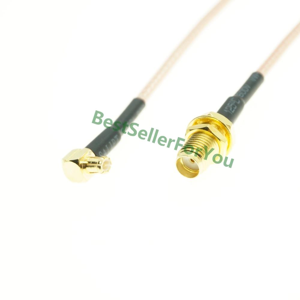 SMA tuerca hembra bulkhead a MCX macho ángulo derecho RA PLUG Cable en espiral RG316 Cable Coaxial RF Antena Yagi 4G 28dbi, antena 4G LTE TS9 MCX N macho N Hembra TNOutdoor, potenciador direccional, módem amplificador RG58 1,5 m