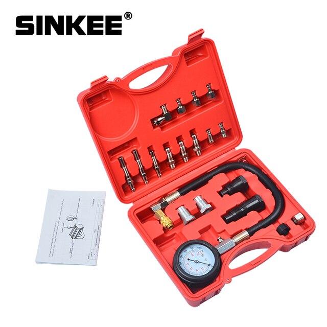 ยานยนต์สูญญากาศ Cooling ระบบ Auto Car หม้อน้ำ Coolant Refill & Purging TOOL Gauge ชุด SK1088