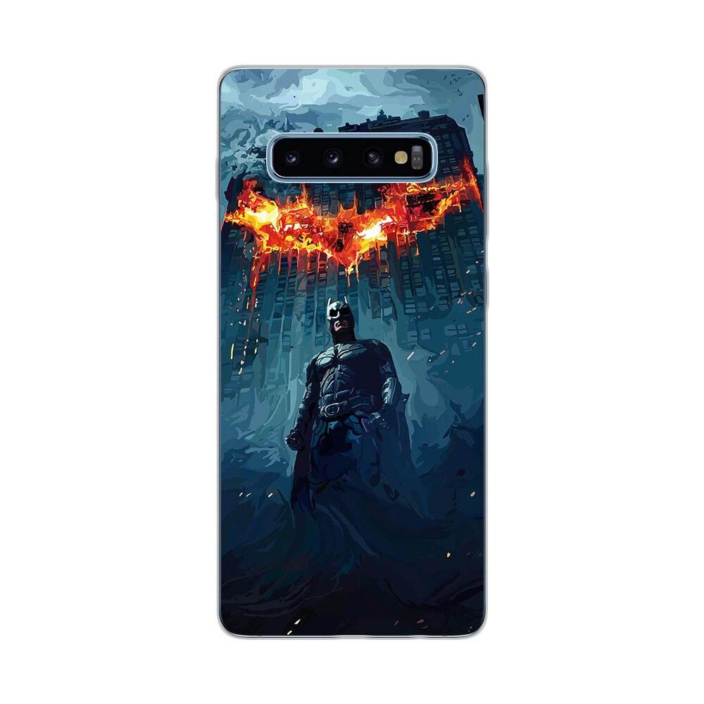 Cool Joker Harley Quinn Batman Soft Silicone Case For Samsung Galaxy S7 Edge S8 S9 S10 S20 Plus S10E S105G S20 Ultra Cover Funda