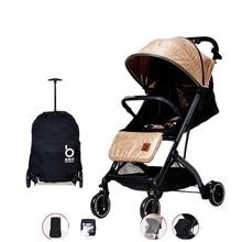 Stroller Baby Baby Stroller Can Sit and Lie Lightweight Folding High Landscape Newborn Baby Child Baby Stroller Qz1pro Stroller
