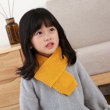 Warm knit scarf female female headscarf luxury brand hot fashion cute autumn and winter boys and girls baby children solid color children autumn and winter warm clothes boys and girls thick cashmere sweaters