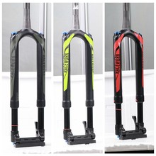 RS1 MTB Carbon Fork Thru Axle 100*15mm Air 27.5 29inch Bicycle Fork ACS Solo Predictive Steering With Accelerato Suspension Fork