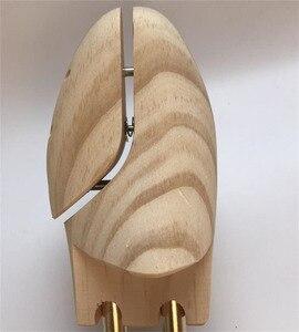 Image 3 - ZGZJYWM männer und frauen Schuh Bäume Twin Rohr Einstellbar Neuseeland Kiefer Holz Schuh Baum