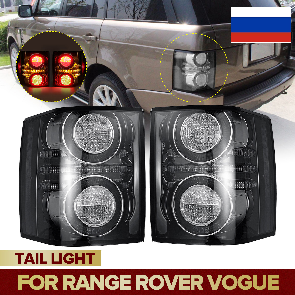 2x Front Bumper Headlamp washer Jets for Range Rover Sport Autobiography 2010+