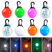 LED Dog Tag Collar Light Up Pet Puppy Flashing See Night Collars Glow In The Dark Tags Led