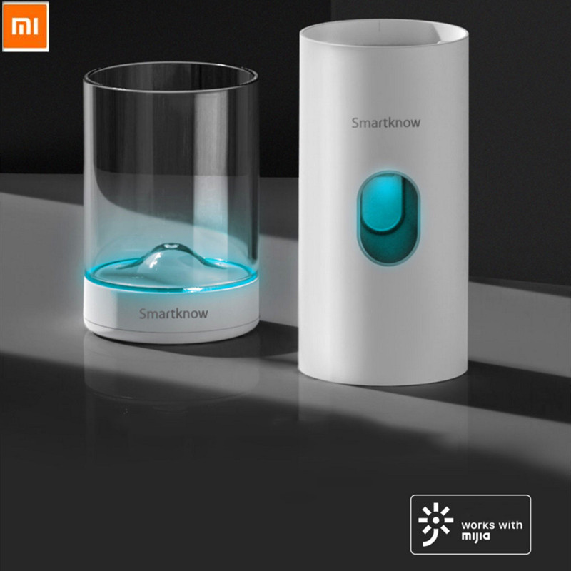 Xiaomi Mijia Smartknow Automatic Induction Toothpaste Machine Sterilization Brushing Cup Toothpaste Squeezer Travel Cleaning