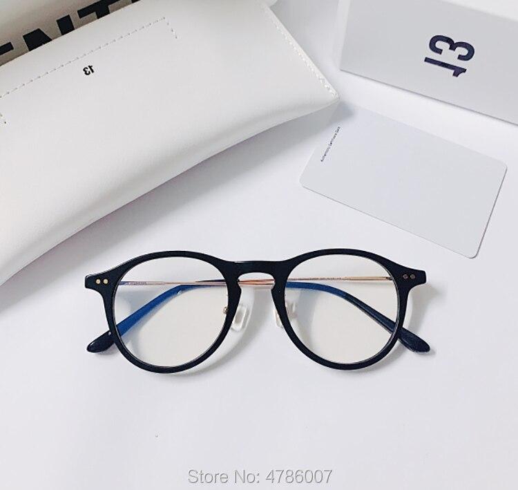 Мужские и женские очки по рецепту Gentle COZMO, винтажные ацетатные очки в деловом стиле ретро, оправа для очков