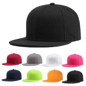 Local stock Sports Baseball Cap Blank Plain Solid Snapback Golf ball Hip-Hop Hat Men Women(China)